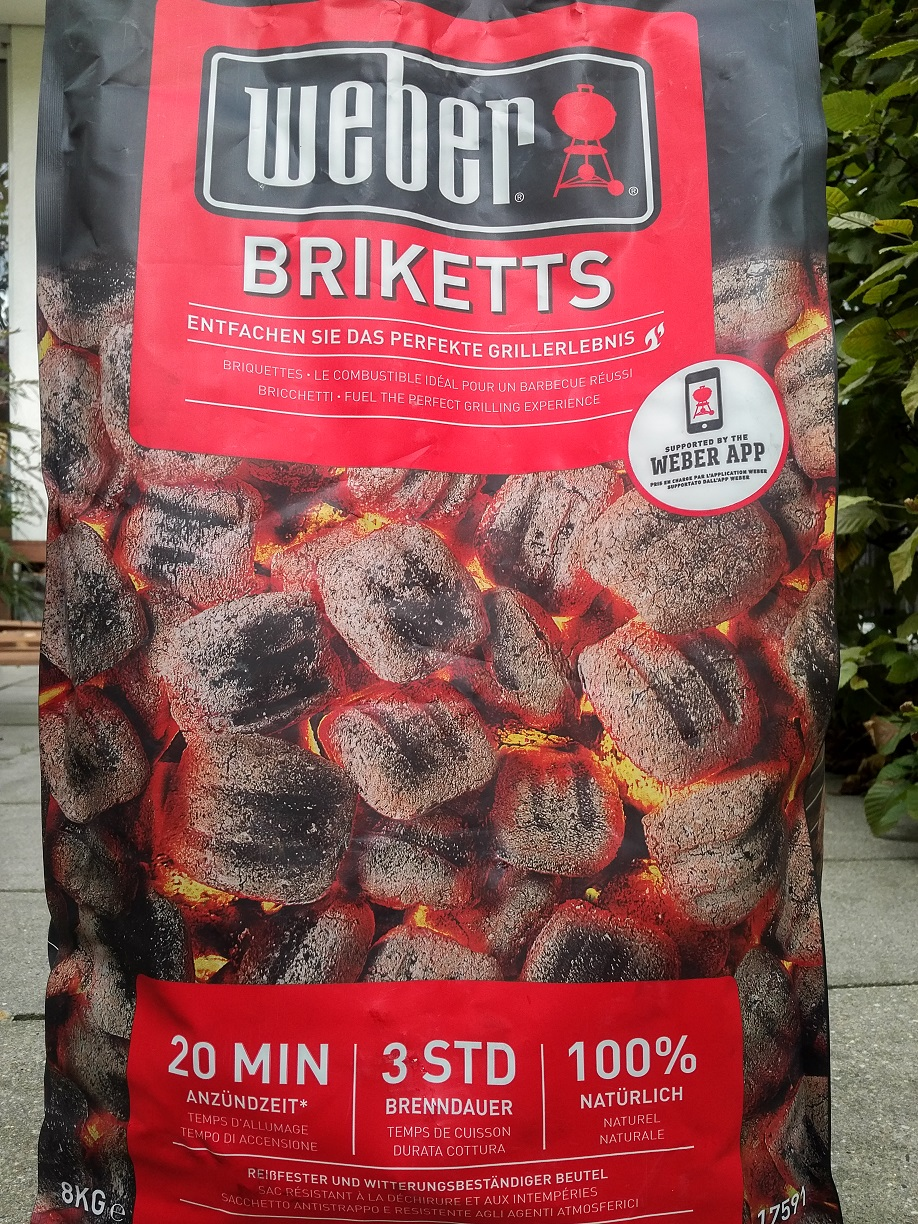 Weber Grill Briketts
